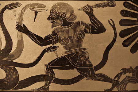 Gurdjieff - Hercules slaying the Hydra